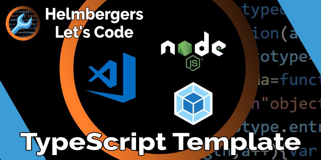 VS Code/TypeScript Start Template für Node js und Web
