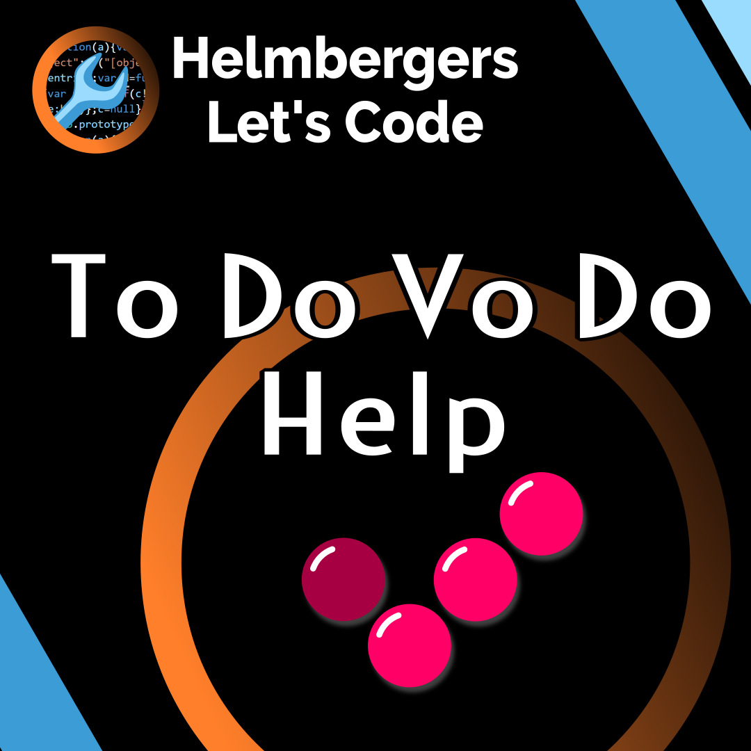 Helmbergers Let's Code - Instagram quad: To Do Vo Do Help